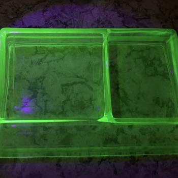 Vaseline/Uranium/Depression Glass  - Glassware