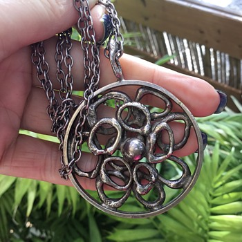 Graham Watling Silver Pendant - Arts and Crafts