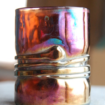 Esteban Prieto Iridescent Tumbler - Art Glass