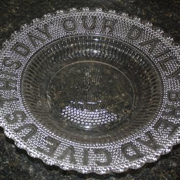 EAPG Platter - Glassware
