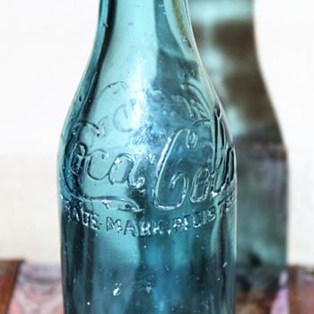 Ice Blue Canada Coca Cola Bottle