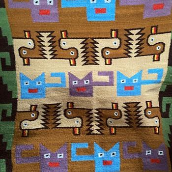 Wall-hanging Rug - Peru?  Ecuador? - Native American