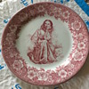 Shenango China 1950's Plate from The Domino Club San Francisco