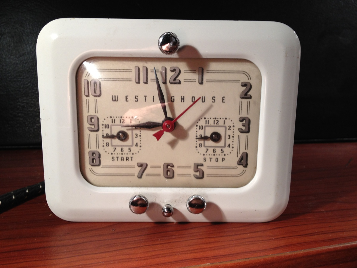 westinghouse clock timer model tc81 collectors weekly