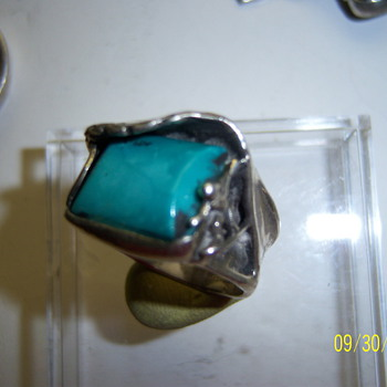 Surfer, (story ring) circa 1976 - Fine Jewelry
