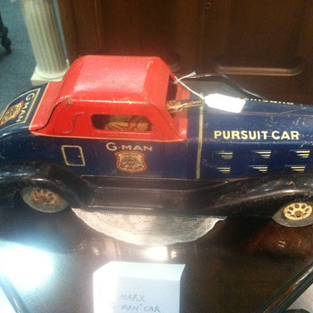 Old G-Man Toy from Germany - Model Cars