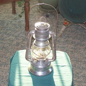 1940's Little Wizard Kerosene Lantern, by the Dietz Co. of New York - Sporting Goods