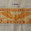 1934 6 Cent US Air Mail Stamp