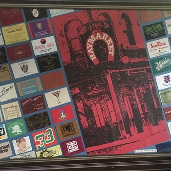 NYC 60's-70's Restaurant and bar, matchbook covers  - Art Deco