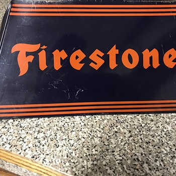 Vintage Firestone Tire Display - Advertising