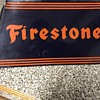 Vintage Firestone Tire Display