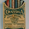 Crayola Crayons in box Circa 1903