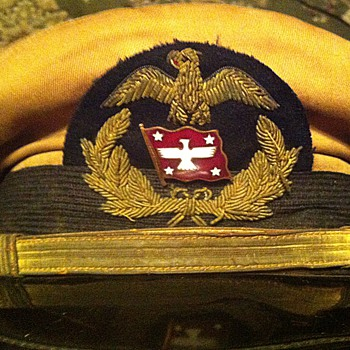 USMS American President Lines officer hat, WWII - Military and Wartime