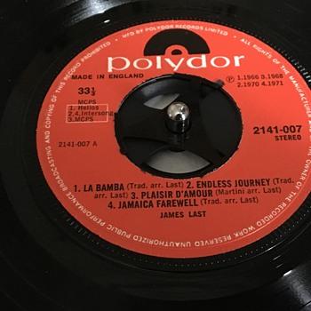 Old vinyl record  - Records