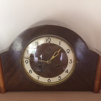 Unicorn mantle Clock - Art Deco