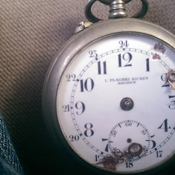 mystery open face pocket watch - Pocket Watches
