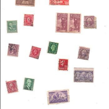 "LOOSE ""STAMPS"", ""STAMP ENVELOPES"""