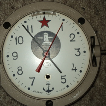 russian submarine clock - Clocks