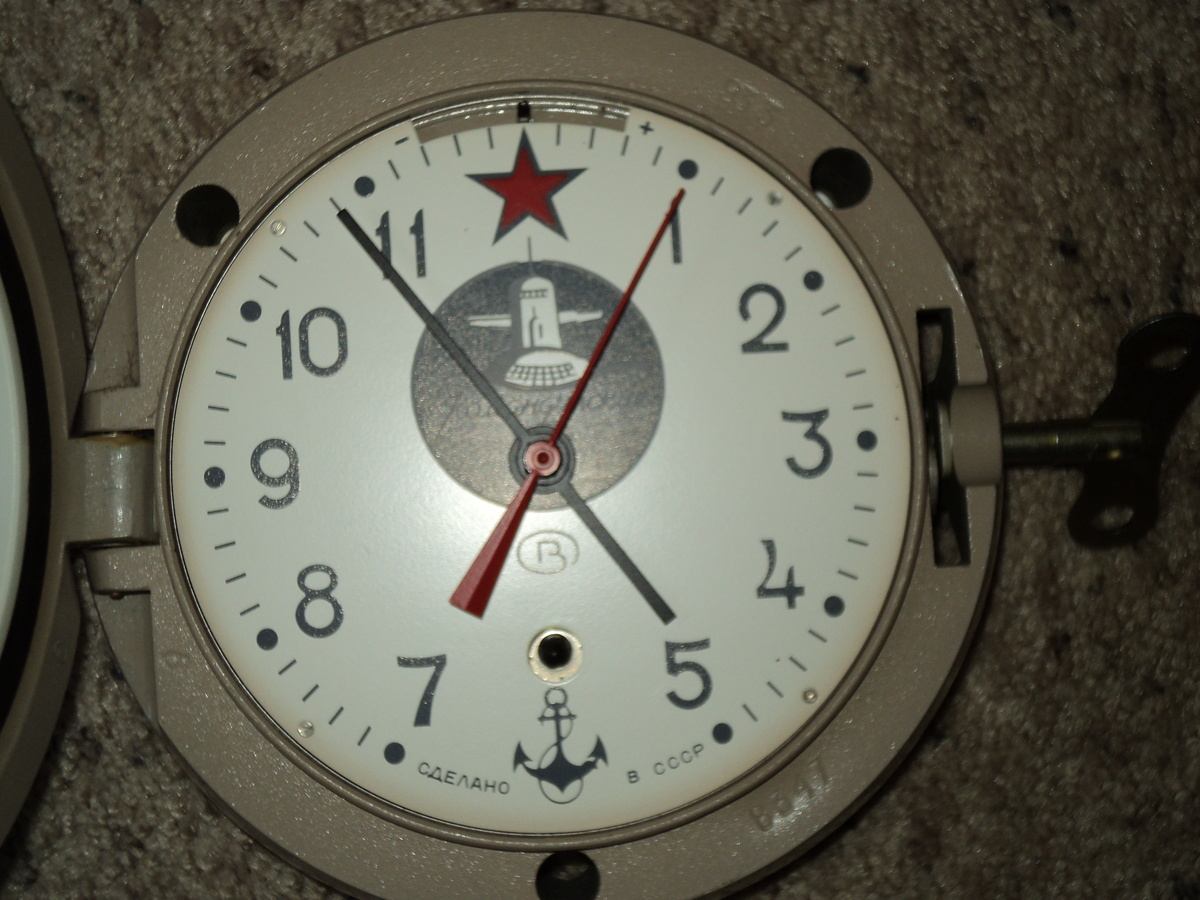 Russian submarine clock collectors weekly amipublicfo Images
