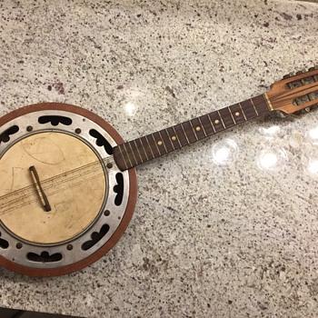 banjo-mandolin  FENDER ? BANJOLIN - Musical Instruments