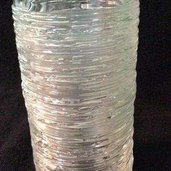 Bengt Edenfalk for Skruf Glassworks, spun glass vase - Art Glass