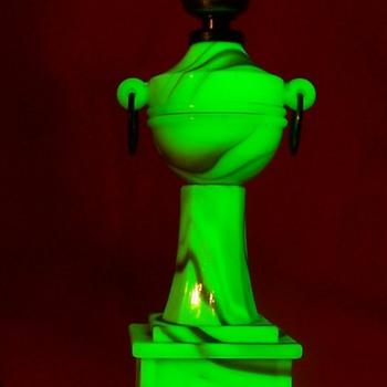 Houzex Uranium Slag Glass Lamp - Lamps