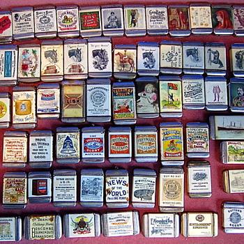 Rare Celluloid Wrap Advertising Collection. - Advertising