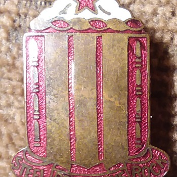 38th Field Artillery Regiment DUI - Military and Wartime