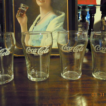 Coca-Cola Bell Glasses - Coca-Cola