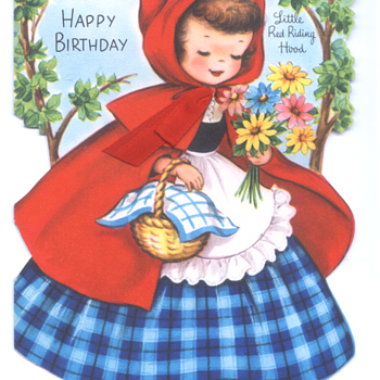 Little Red Riding Hood | Fairfield Birthday Story Card