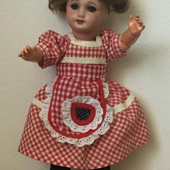 Antique Unis France Bisque Composition Bleuette Doll