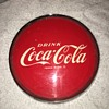 '50's Coca-Cola Tombstone Fountain Dispenser Brand Plate