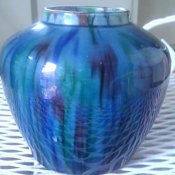 Awaji Japanese pottery vase - Pottery