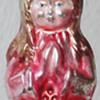 Angel in bell shaped