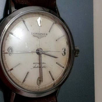 HIs thos LONGINES ADMIRAL AUTOMATIC EAGLE 1200 frm the 1830s real??..