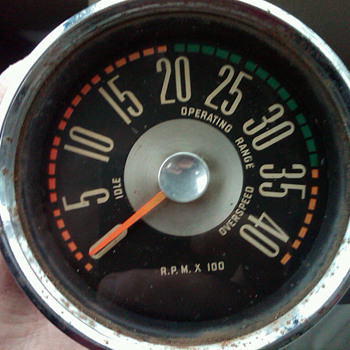 Stewart Warner Tachometer 430636 - Petroliana