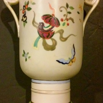 Antique Hand Painted Nippon Vase?