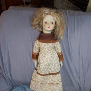 my doll is purchsed at yard sale