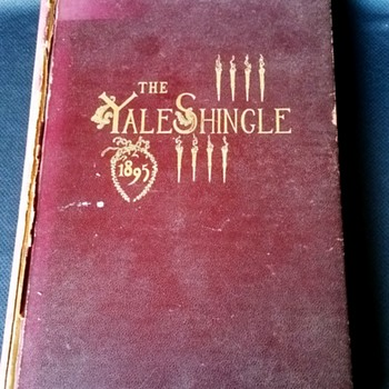 Yale Law School 1895 Yearbook, The Yale Shingle - Books