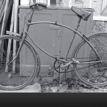 BSA Folding Paratroopers bicycle.  - Military and Wartime