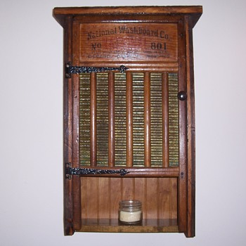 vintage washboard cabinets - Furniture