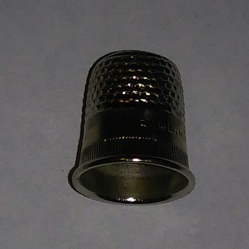This is a thimble  - Sewing