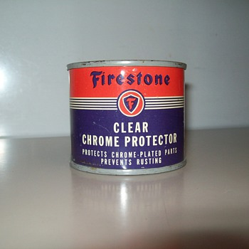 Firestone Clear Chrome Protector - Petroliana