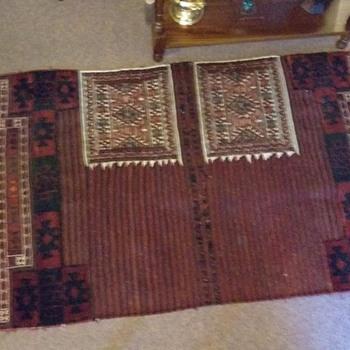 Antique Kazak wedding mat - Rugs and Textiles