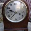 Mahogany clock