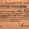 1918 Sears Roebuck Refund