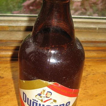 Duquesene beer bottle