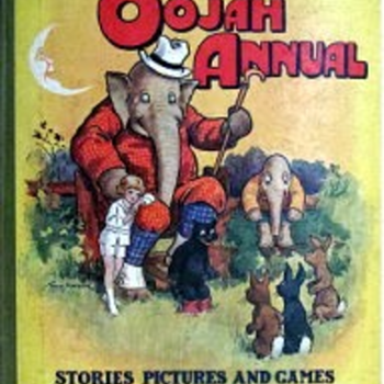Uncle Oojah Annuals and Newspaper supplements from The Daily Sketch - Books