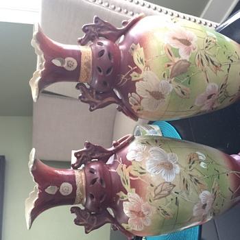 Vintage vase - Asian