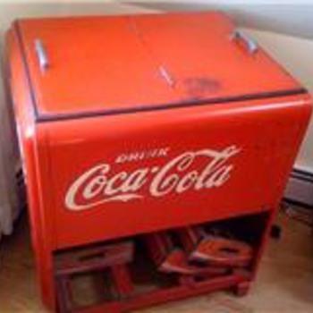 1930's Westinghouse - Coca-Cola